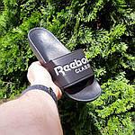 Мужские летние шлепанцы Reebok (черно-белые) 40013, фото 8