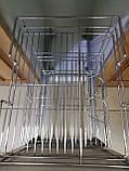 Карго нижнє кріплення GIFF хром на фасад 300мм та 400мм, фото 9