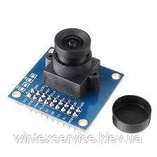 Модуль камеры CMOS OV7725 с обьективом