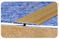 """Стыкоперекрывающий полукруглый алюминиевый порог с открытой системой монтажа """"Модель ПА 80"""", фото 1"""