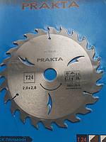 Пила дисковая по дереву  prakta  160*20 на 24 зуба