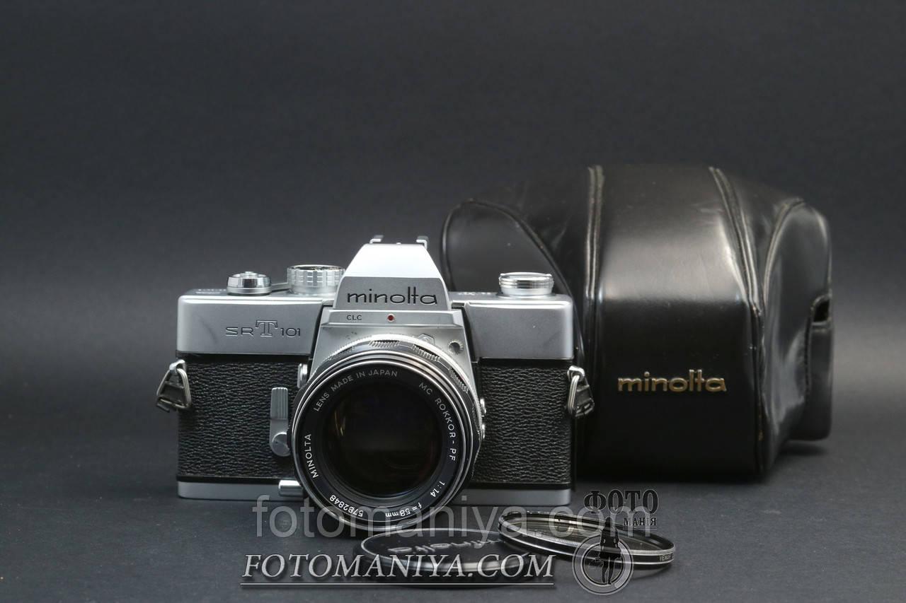 Minolta sRT 101 kir MC Rokkor-PF 58mm f1.4
