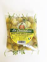 Оливки зеленые с косточкой Olive Verdi Dolci Giganti, 250г.
