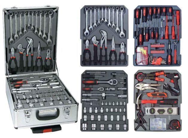 Набір інструментів у валізі AND 186 елементів
