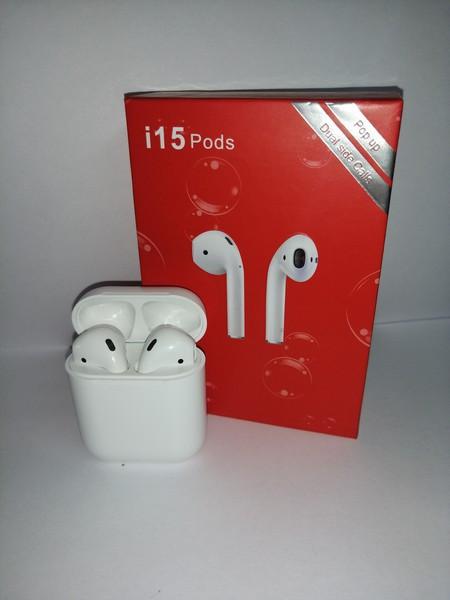 Бездротові якісні навушники i15 Pods