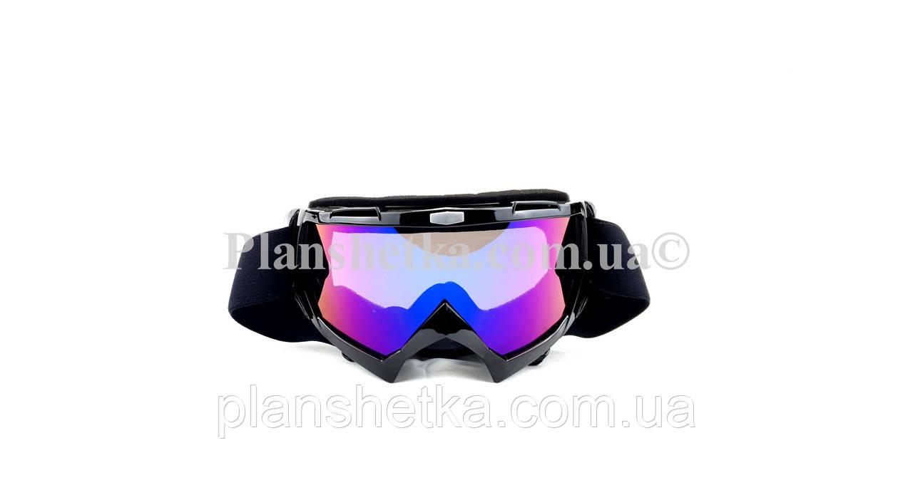 Кроссовые очки 634 motokross черные