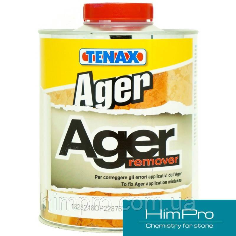 AGER REMOVER 1L Tenax Очиститель который устраняет неправильно нанесенные пропитки