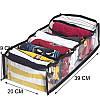 Гибкий разделитель для хранения вещей М (черный), фото 2