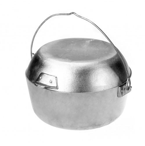 Казан похідний з кришкою-сковородою Polimet на 5 л