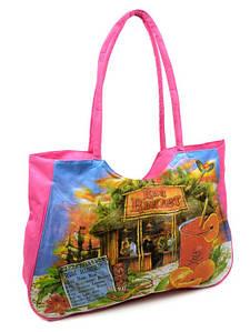 Сумка Женская Пляжная текстиль Podium 1342 light-pink