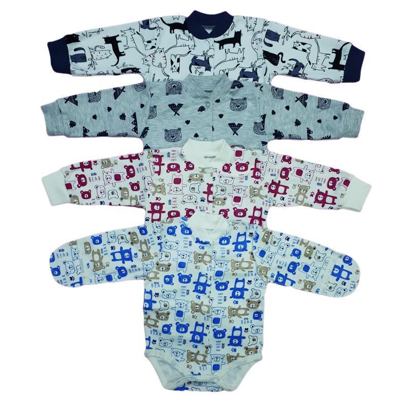 Боди для новорожденных (интерлок)