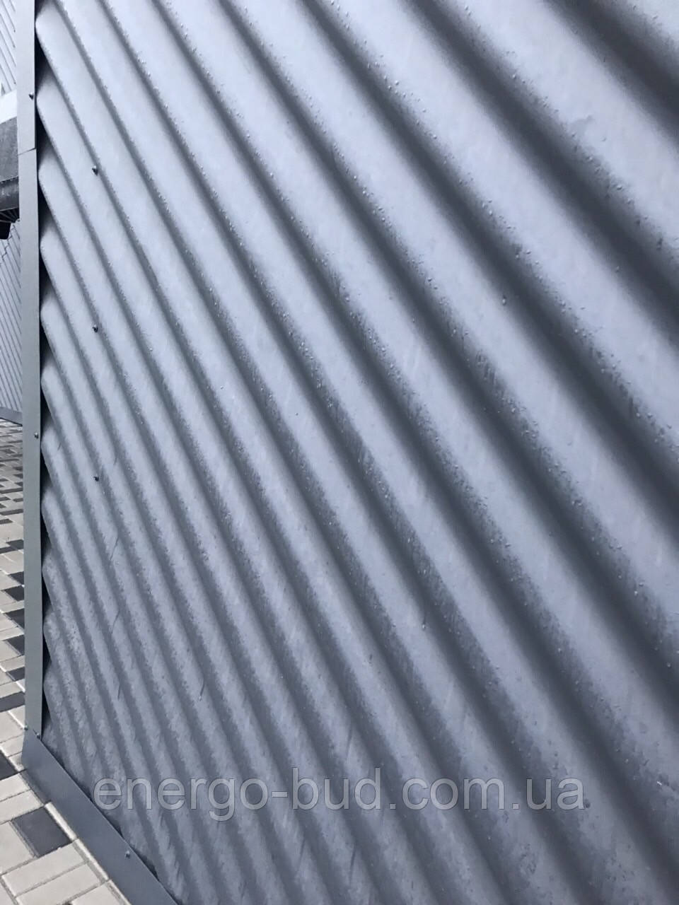 Профнастил волновой ПВ20 цветной 0,40 мм (металлошифер)