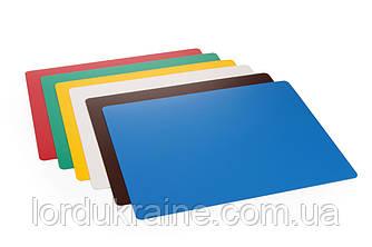 Підкладки для різання HACCP, компл. 6 шт. Hendi 380x305x1,4 мм