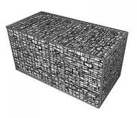 Габион металлический прут, горячий цинк Ш*В*Д 0,3*1,0*2,0 м, толщина 4 мм, фото 1