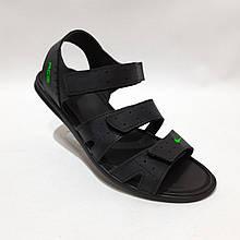 41,42,43,44 р. Чоловічі шкіряні сандалі в стилі Nike відмінної якості