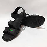 41,42,43,44 р. Чоловічі шкіряні сандалі в стилі Nike відмінної якості, фото 2