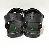 41,42,43,44 р. Чоловічі шкіряні сандалі в стилі Nike відмінної якості, фото 7
