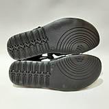 41,42,43,44 р. Чоловічі шкіряні сандалі в стилі Nike відмінної якості, фото 8