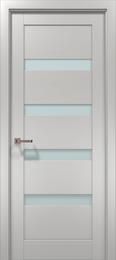 Межкомнатная дверь «Папа Карло» Optima-02 (застекленная)