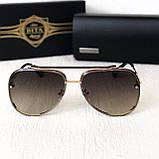 Женские солнцезащитные очки авиаторы Dita (122) brown, фото 2