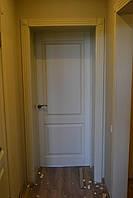 Дверь межкомнатная с аркой из массива