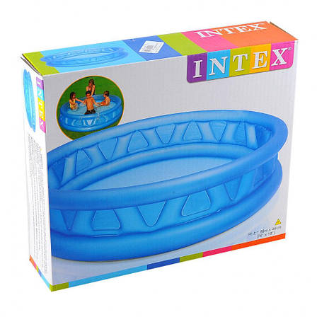 "Intex Бассейн 58431 NP ""Летающая тарелка"" размером 188х46см, объём:782л, фото 2"