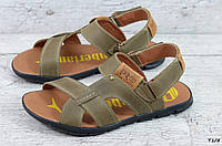 Мужские кожаные сандалии Timberland (Реплика) (Код:  Т1/5  ) ►Размеры [40,41,42,43,44,45], фото 1