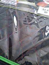 Чехлы LUX ВАЗ VAZ 2108/2109/21099/2113/2114/2115 серый центр, фото 2