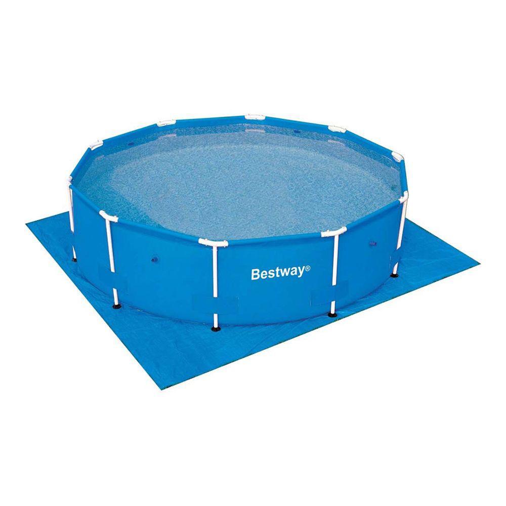 Покриття Bestway 58002 під басейни 3.60 / 3.66 м (396х396 см)