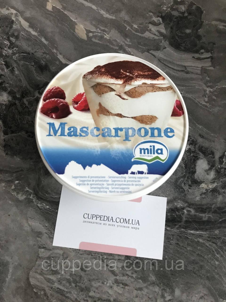 Сир Mila Mascarpone 250 грм
