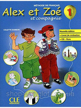 Alex et Zoe Nouvelle 1 Livre de L eleve + CD-ROM