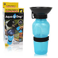 Дорожная поилка - бутылка для собак Aqua Dog Аква Дог