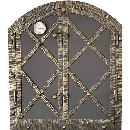 Дверцята для коптильні LOGAN 600x700 утеплена, фото 2