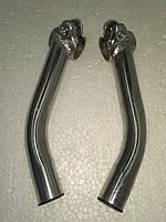 Упоры для рук (рога) на руль велосипедный сталь