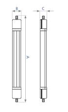 Светодиодный промышленный светильник DELUX LED PC7-02 45W 6500К, фото 3