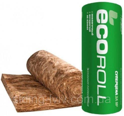 Вата мінеральна Knauf Insulation Ecoroll 1220×8200×50 мм