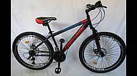 """Велосипед Crossride Tiger MTB 24"""" черный"""