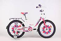 """Велосипед Ardis Lillies BMX 16"""" Бело-фиолетовый"""