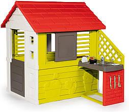 Домик для детей Smoby Солнечный с кухней 810713