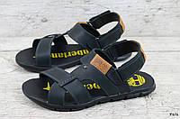 Мужские кожаные сандалии Timberland (Реплика) (Код: Т1/1  ) ►Размеры [40,41,42,43,44,45], фото 1