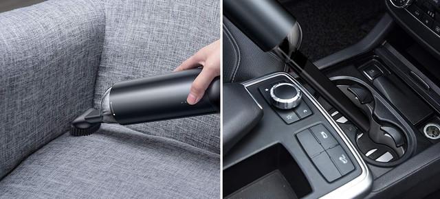 Автомобильный пылесос BASEUS на аккумуляторе