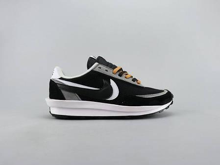 """Кроссовки Nike LD Waffle Sacai """"Черные"""", фото 2"""
