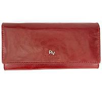 Кошелек женский кожаный на кнопке красный Rovicky RV-7680155-9/8787, фото 1