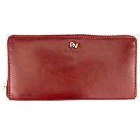 Кошелек женский кожаный на молнии Rovicky RV-7680188 красный, фото 1