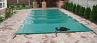 Зимнее ПВХ накрытие для бассейна с алюминиевыми направляющими