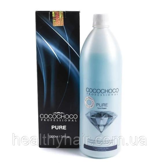 Кератин для выпрямления волос Cocochoco Pure 1000 мл