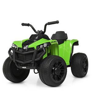 Детский квадроцикл Bambi M 4229EBR-5 зеленый радиоуправления
