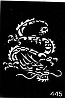 Трафареты для био-тату (№ 445)