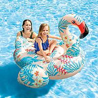 Надувной плотик Тропический Фламинго Intex