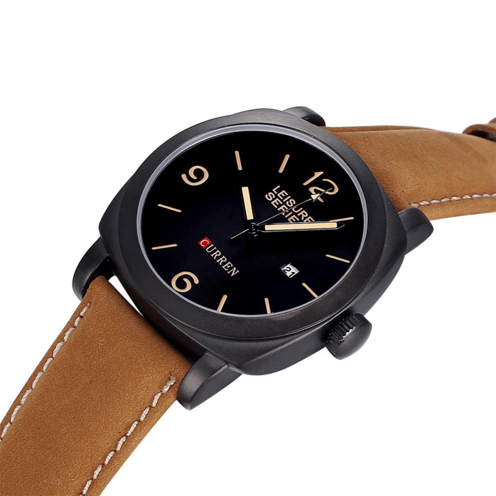 Часы мужские Curren President brown-black